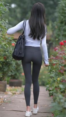(套图)漂亮的灰色紧身瑜伽裤美女(589P)[11.22G/JPG]